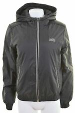 NIKE Womens Padded Jacket UK 12 Medium Black Nylon Vintage LP53