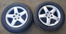 """PEUGEOT 407 16"""" ALLOY WHEELS WITH 205/60/R16 TYRES"""