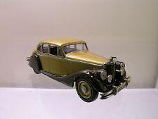 MARQUE ONE MODELS JAGUAR MK.V 1949 GOLD MET/BROWN WHITE-METAL HANDBUILT 1:43