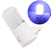 LED Night Light 1W Bedside Lamp Wall Mounted US Plug 4 LED Bedroom Lighting Bulb