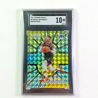 Russell Westbrook 2019-20 Panini Mosaic Center Stage Prizm SGC Graded 10 Rockets