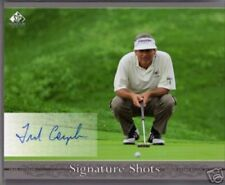 Fred Couples certified autograph autographed 2005 SP Signature 8x10 photo card