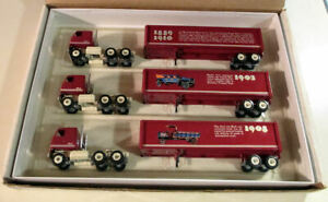WINROSS STORY OF MACK 3 TRUCK SET  1898-1908  NEW IN ORIGINAL BOX