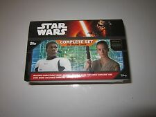 """STAR WARS """"TOPPS EX"""" 2017(COMPLETE SET """"Journey,1 & 2""""/ 310 CARD'S)FREE SW ITEM!"""