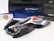 "AUTOart 18117 # Gran Turismo Red Bull X2014 silber "" Sebastian Vettel "" 1:18"