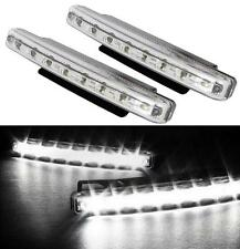 KIT FEUX DE JOUR 2x 8 LED LOOK AUDI XENON CHROME CITROEN C3 C3 PICASSO GRAND C4