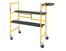 MetalTech Mini Rolling Scaffold 2 ft. 500 lb. Load Capacity Tool Shelf Rollding