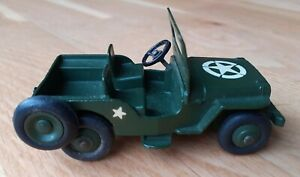 Dinky Toys Military USA Army Jeep #669 US Export Issue, VNM Unboxed- RARE