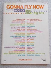 Theme Rocky + 22 Other Big Hits Voice Piano Guitar Unmarked