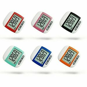 LCD Digital Step Pedometer Walking Calorie Counter Distance Fitness Run Belt