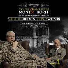 Sherlock Holmes + John H. Watson 1+2+3 CD Hörspiele Sky Du Mont Hans Peter Korff
