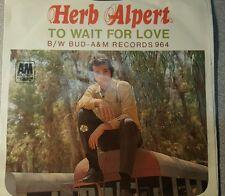 Herb Alpert And The Tijuana Brass – To Wait For Love / Bud