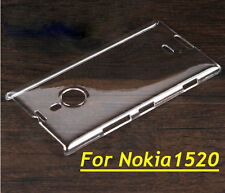 Glossy Transparent Clear Crystal Hard Plastic Case Cover For Nokia Lumia 1520