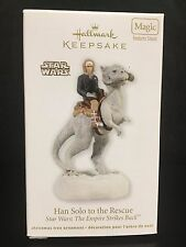 2012 HALLMARK ORNAMENT STAR WARS Han solo to the rescue MAGIC SOUND MIB