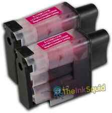 2 LC900 Magenta Ink Cartridge Set For Brother Printer Fax310 MFC210C MFC215C