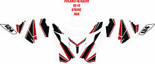 POLARIS  SNOWMOBILE WRAP KIT IQ RACER, FUSION  05-15 STRIPE DECAL BASIC