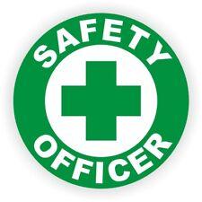 Safety Officer Hard Hat Sticker | Helmet Decal Label Foreman Laborer Manager