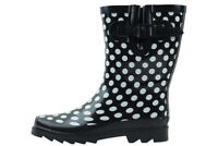 New Women's Mid-Calf Rubber Rain Boots