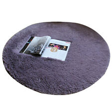 Fluffy Rugs Anti-Skid Shaggy Area Rug Dining Room Home Carpet Floor Mat 40CM