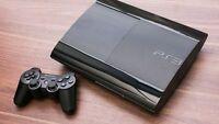 CONSOLA PS3 SONY PS3 SUPER SLIM Negra 500 GB . Entrega en 24 H