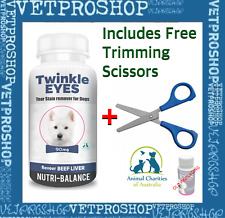 TWINKLE EYES Tear Stain Remover For Dogs - BEEF LIVER 90g Blue