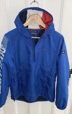 Tommy Hilfiger Older Boys Youth Pull Over Rain Coat Jacket Size 164 Blue