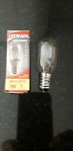 1x Eveready 15w Fridge / Appliance / Freezer Light Pygmy Bulb SES E14 240v Screw