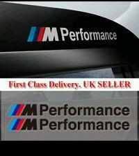 BMW F30 M Performance negro x2 de gráficos de vinilo Adhesivos calcomanías de lado 1 3 5 Series