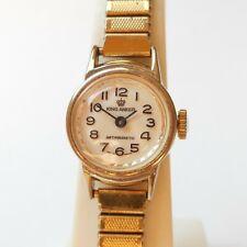 Alte mechanische King Anker 17 Jewels Swiss Made Damen vergoldet Constructa 5111