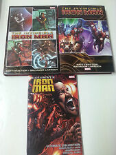 The Invincible Iron Man Val 1 & 2 + Ultimate Comics Iron Man Ultimate Collection