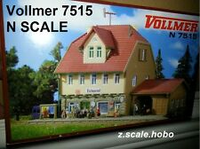 Vollmer N Scale 7515 City Train Station Eichenried Kit *NEW *USA DEALER! N N