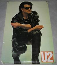 "U2 Bono Original Official Huge Poster 36""X24"" 1980s"
