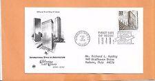 INTERNATIONAL  ARCHITECTURE   1999 DOBBINS AFB   CELEBRATING 20TH CENTURY FDC