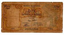 Algeria Algerie Billet 10 NF NOUVEAUX FRANCS 02/06/ 1961 P119 APOLLO