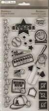 TPC STUDIO Clear Stamps ***93470 BASEBALL***