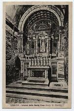 cartolina LORETO  interno della santa casa