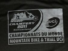 Mountain Bike & Trial UCI Champery 2011 Switzerland, Black Shirt, M bikepark.ch