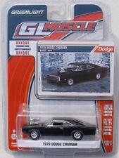 GREENLIGHT GL MUSCLE SERIES 17 1970 DODGE CHARGER Black