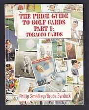 GOLF TOBACCO CARDS PRICE GUIDE BY PHILIP SMEDLEY & BRUCE BERDOCK
