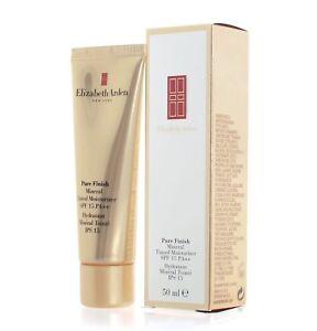 Elizabeth Arden Pure Finish Mineral Tinted Moisturizer Cream 50ml SPF 15 BOXED