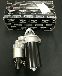 Bentley Continental Gt & Flying Spur Starter Motor