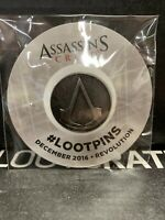 Assassin's Creed Enamel pin Loot Crate #Lootpins exclusive Dec 2016