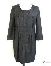 ISABEL MARANT ETOILE - DRESS SLEEVES 3/4 WOOL GREY T 1 = 38/40 - LIKE NEW