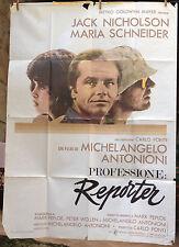 Cinema-Affiche originale italie Profession Reporter Antonioni, Nicholson 140*200