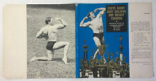 Facts About Body Building And Weight Training - WILLIAM BUTLER~Dust Jacket Only