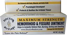Doctor Butler's Hemorrhoid & Fissure Ointment...FDA Approved Relief,  Pre Order