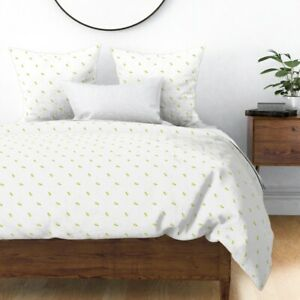 Pineapple Summer Tropical Beach Fruit Kitchen Sateen Duvet Cover by Roostery
