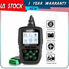 18V Battery Car Scanner Diagnostic Code Reader OBD2 OBDII EOBD Tool ISO9141