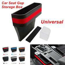 Universal Car Front Seat Pocket Catcher Storage Organizer Catch Box Leather+ABS