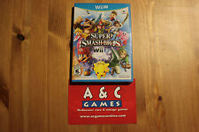 Super Smash Bros. for Wii U (Nintendo Wii U, 2014) Brand New